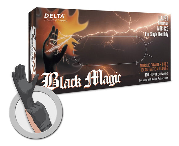 Black Magic Nitrile Gloves