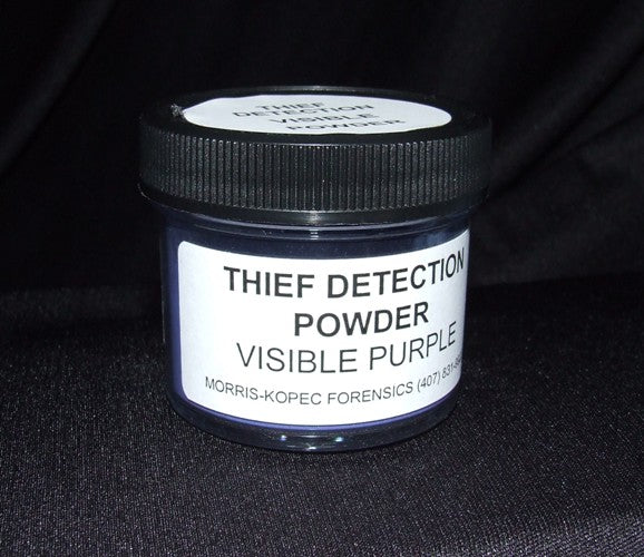 Fluo. Thief Detection Powder, Pale Greenl, Fluoresces Green