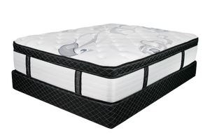 "Premium 15"" HYBRID Euro Pillow Top"