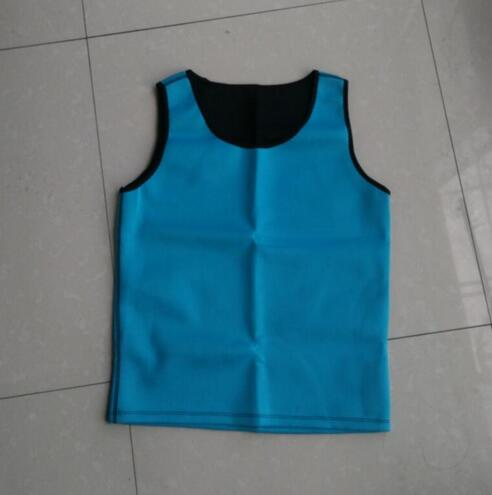 Hot shaper neopreme men blue bleu