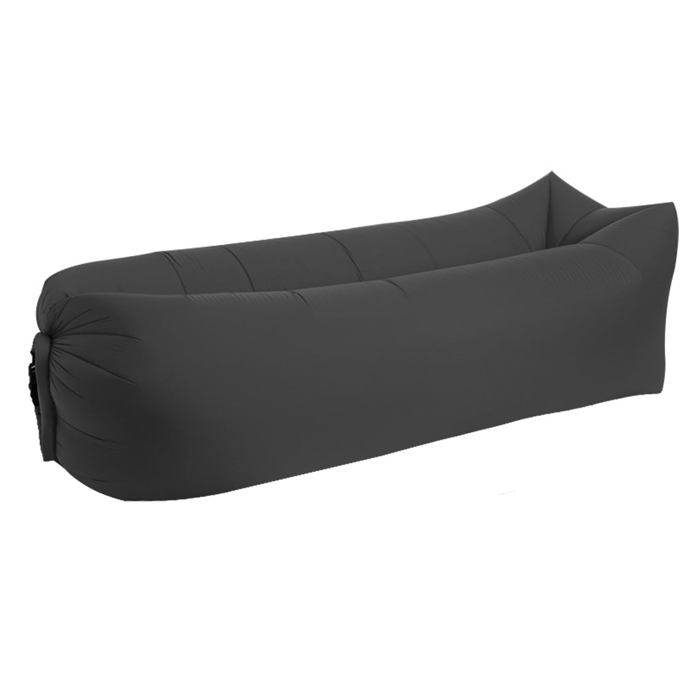 Inflatable lounger black