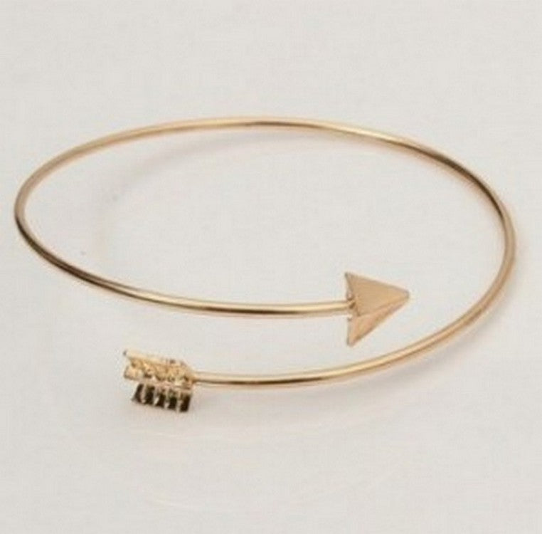 Arrow Bangle Cuff Bracelets