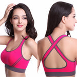 Sports Bra Tank Shockproof Push Up