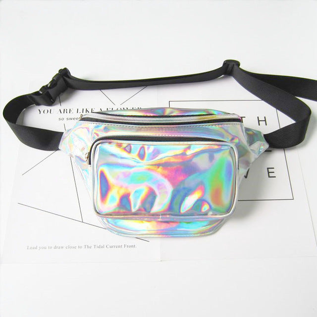 Holographic Waist Bag