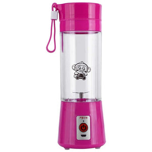 Electric Fruit Juicer Machine pink