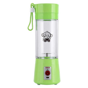 Electric Fruit Juicer Machine green