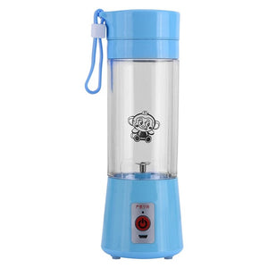 Electric Fruit Juicer Machine blue