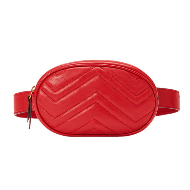 Luxury Chest bag red