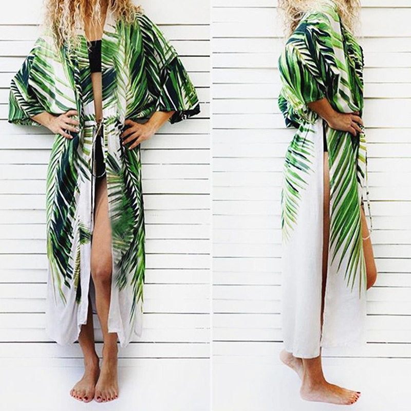 Printed Cover Up Beach
