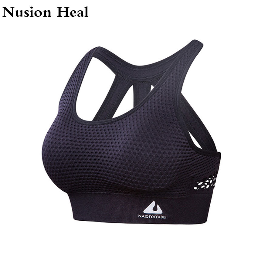 2018 Women Sports Bra black