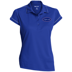 Ladies's DEPLORABLE™ Sport-Tek Contrast Stitch Performance Polo