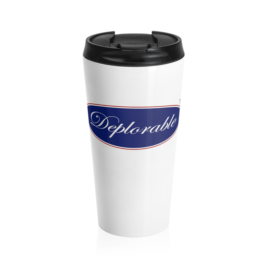 DEPLORABLE™ Stainless Steel Travel Mug