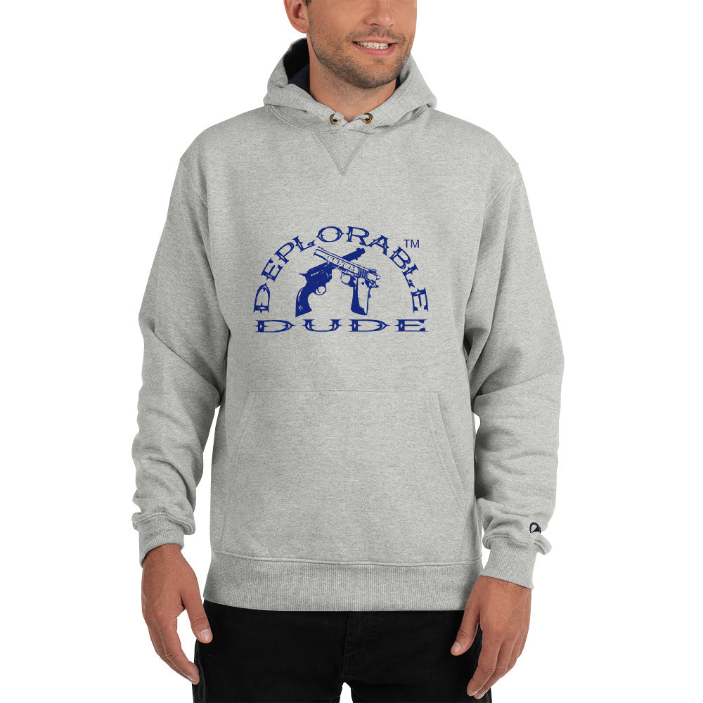DEPLORABLE DUDE™ Logo Champion Hoodie