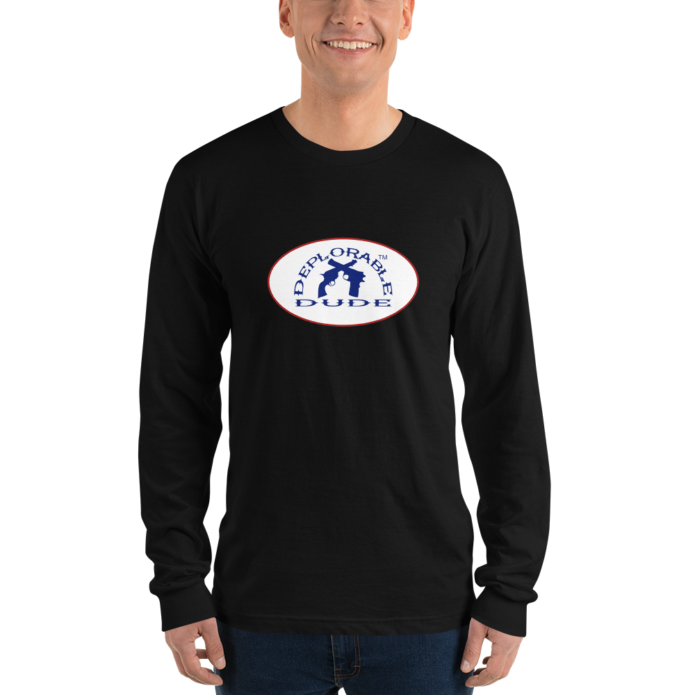 DEPLORABLE DUDE™ Badge Long-sleeve t-shirt