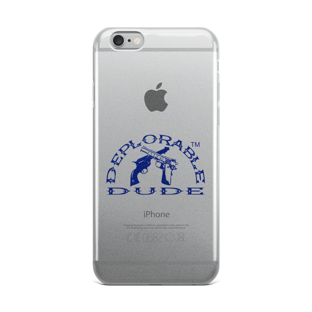 DEPLORABLE DUDE™ Logo iPhone 6/7/8 Case