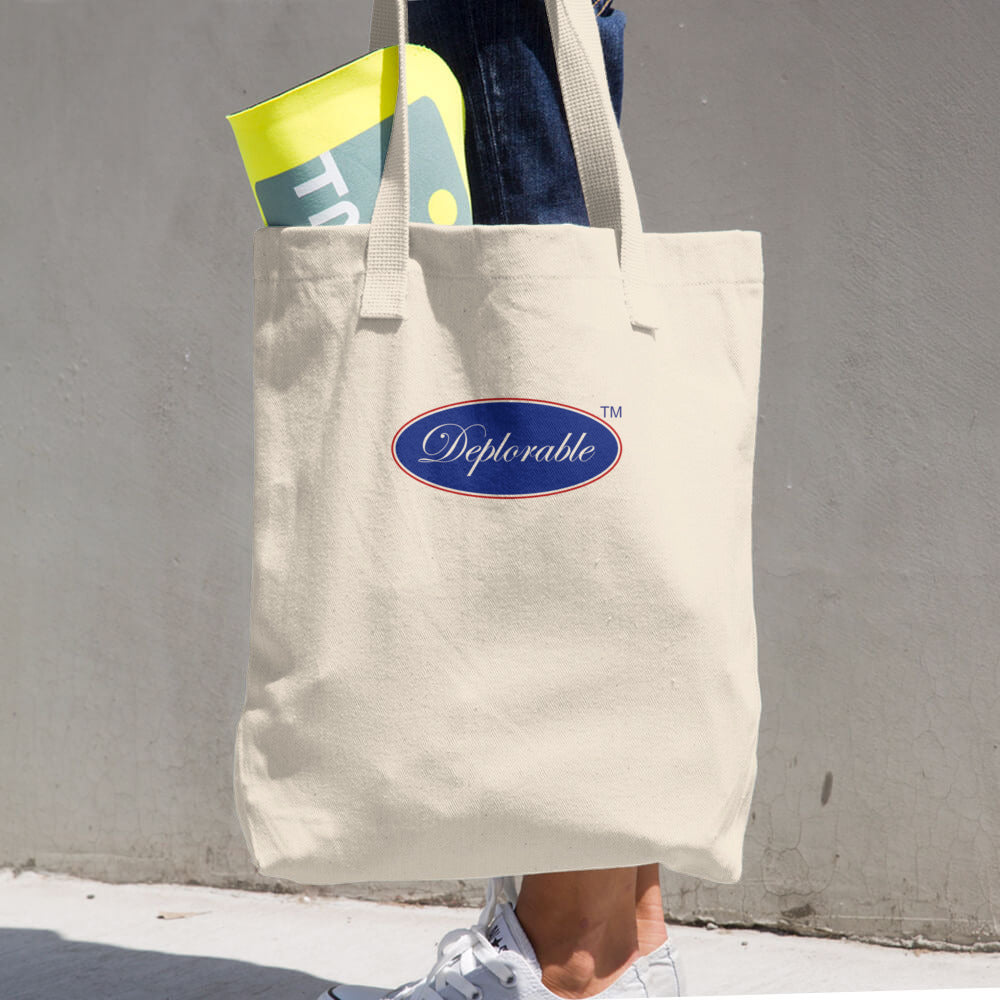 Cotton DEPLORABLE™ Tote Bag