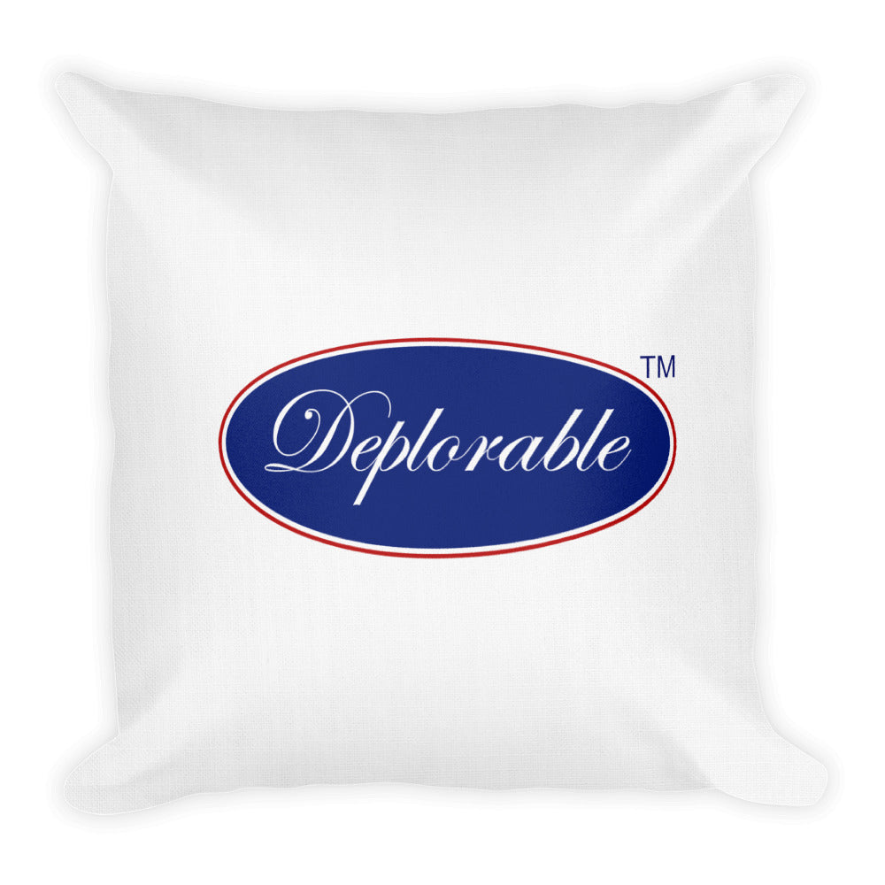 Premium DEPLORABLE™/DEPLORABLE DUDE™ Throw Pillows