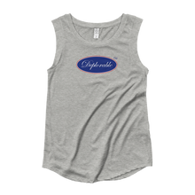 Load image into Gallery viewer, Ladies's DEPLORABLE™ Cap-sleeve T-Shirt