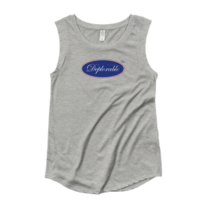 Ladies's DEPLORABLE™ Cap-sleeve T-Shirt