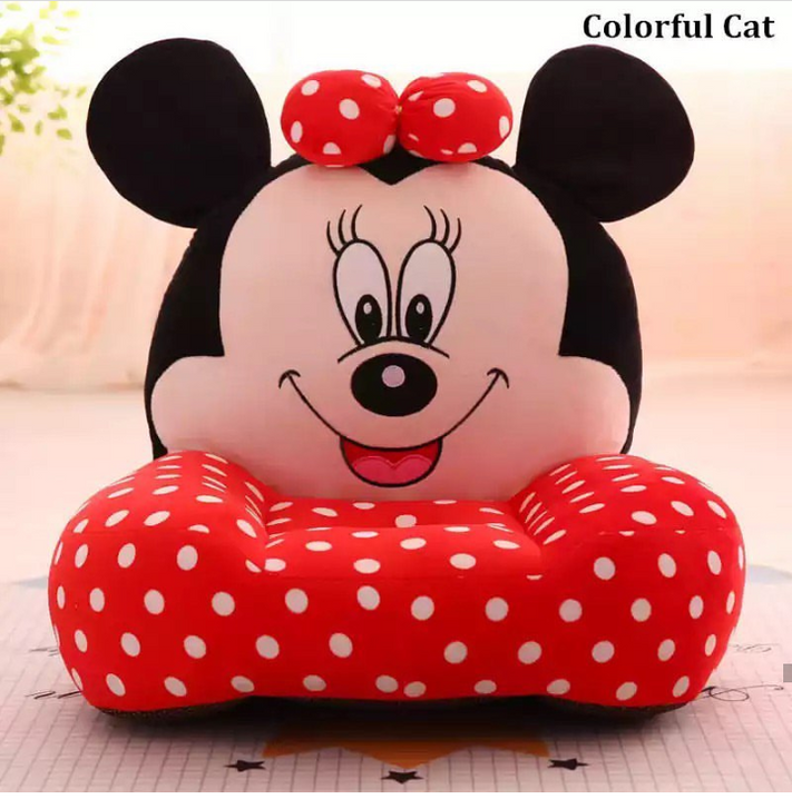 Dotted Mickey Mouse Stuffed Sofa