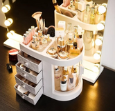 Rotating Transparent Dressing Table