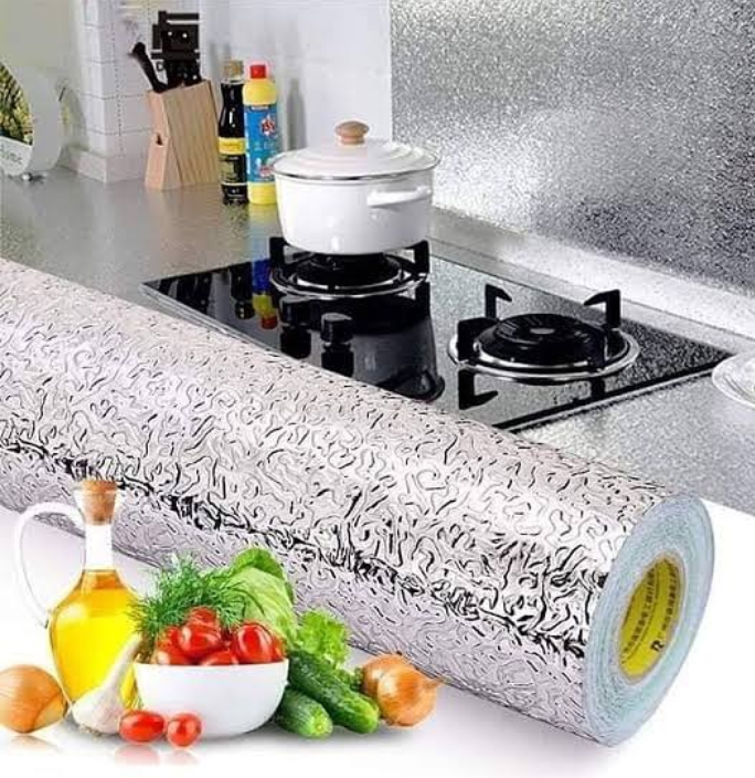 Kitchen Aluminum Foil Sticker