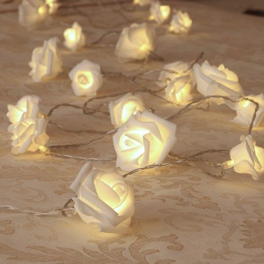 Free Fall Flowers, Flower LED String Lights, FLower Fairy Lights
