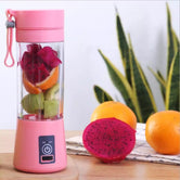 Portable Electric Mini Juicer, Rechargeable Electric Safety Juicer, Smoothie Maker, Cordless Personal Juicer Blender