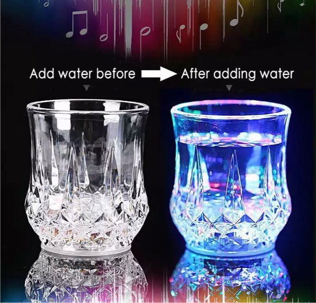 Magic Light Up Acrylic Mug