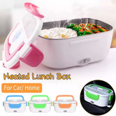 Electric Lunch Box, Portable Food Warmer Heating Container, Durable Travel Meal Lunch Box