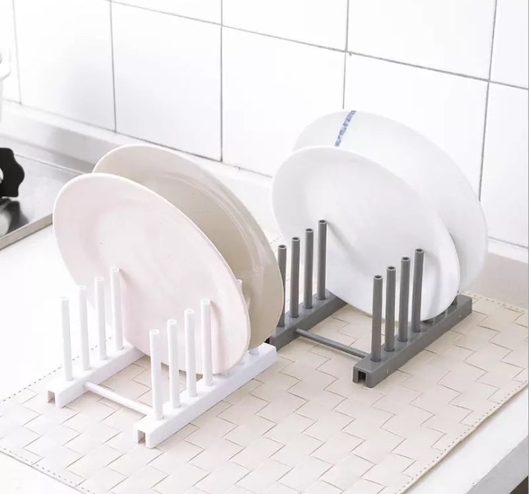 Kitchen Organizer Pot Lid Holder, Kitchen Dish Rack, Pan Cover Holder, Storage Rack for plates and glasses