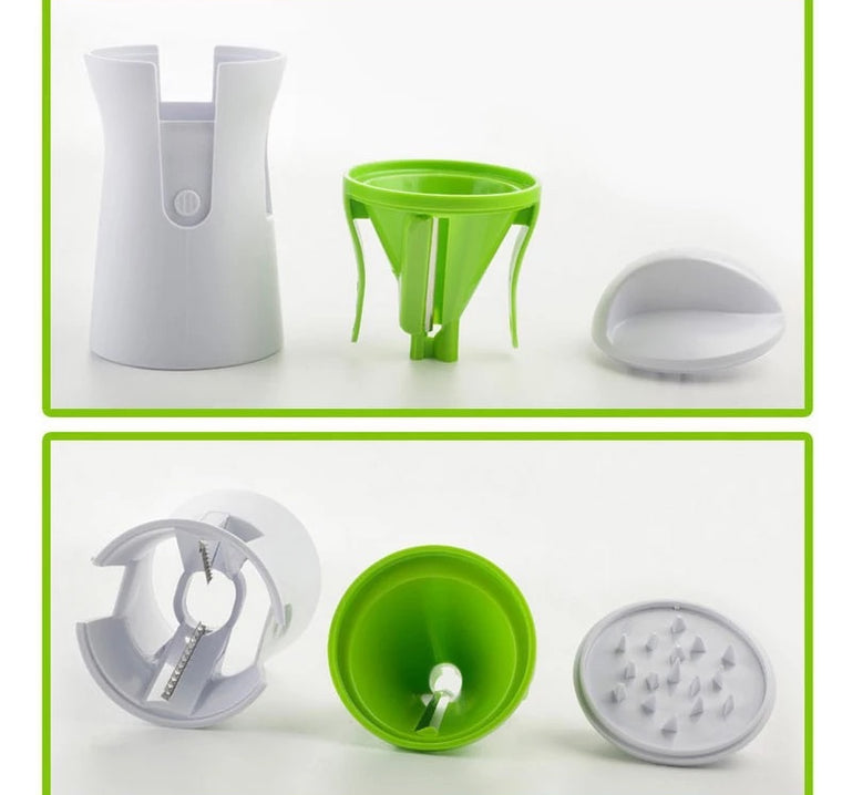 Spiral Vegetable Chopper, Handheld Vegetable Cutter, Multi Functional Vegetable Slicer