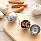 Stainless Steel Ball Filter Kitchen Gadget