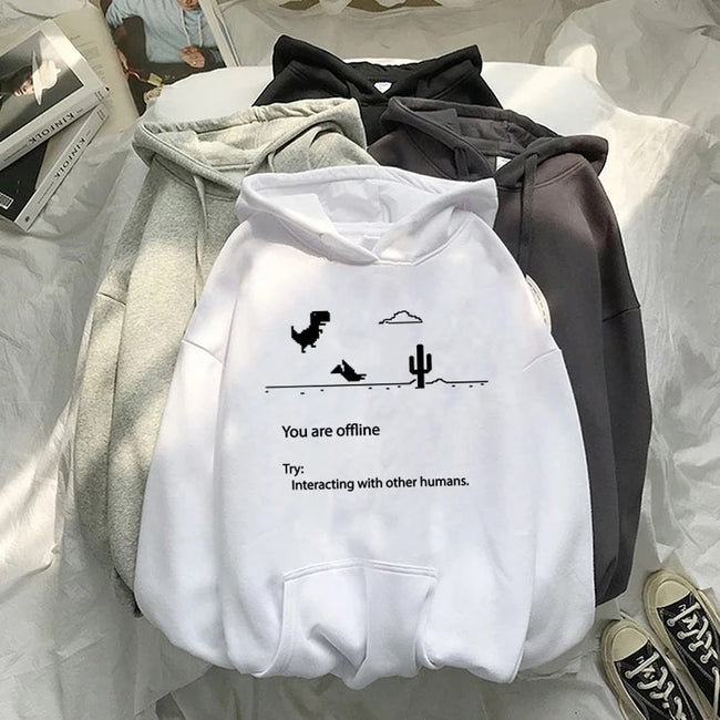You are offline Hoodie