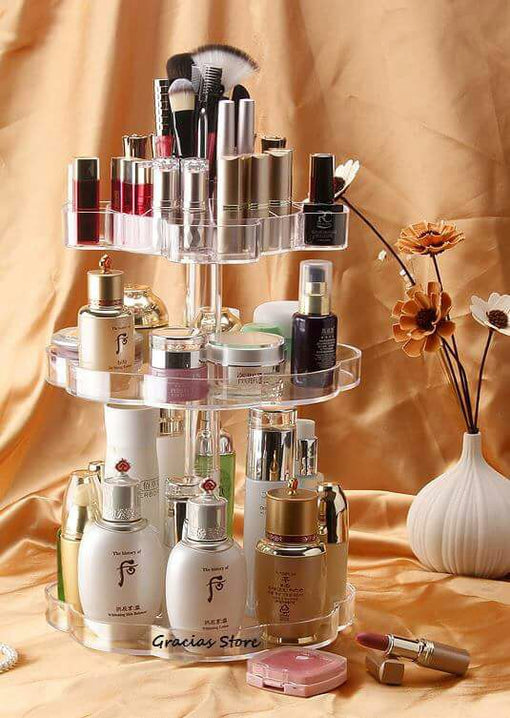 Acrylic Organizer for cosmetics (360 degrees)