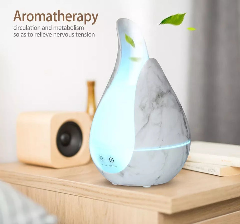Wooden Aroma Room Humidifier,  Aroma Essential Oil Diffuser, 200ml Ultrasonic Cool Mist Humidifier