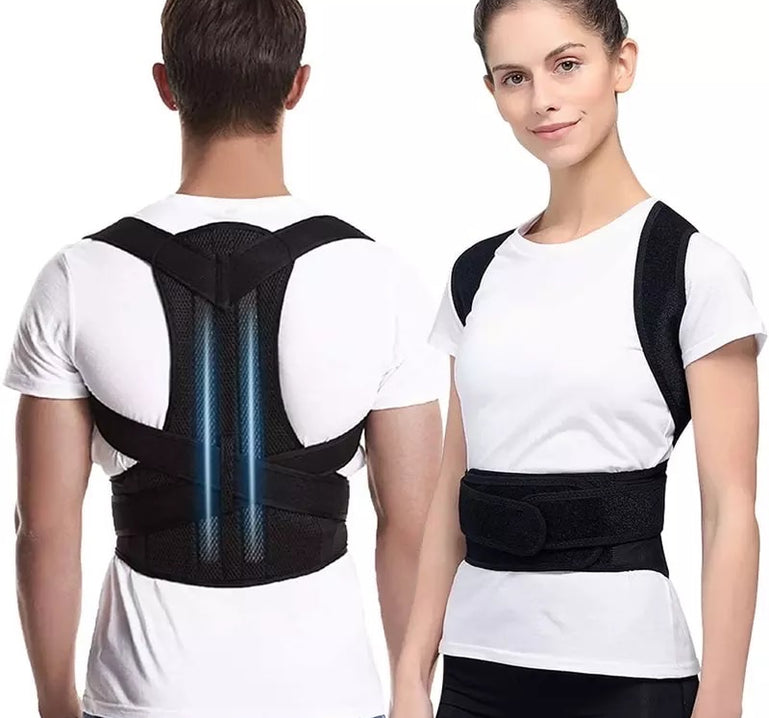Adjustable posture back belt For Men and Women, Back Support and Shoulder Belt