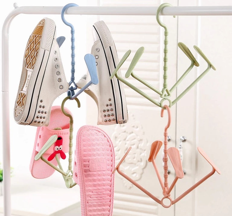Mini Plastic Shoe Rack