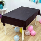 Plastic Disposable Table Cover, Birthday Tablecloth, Waterproof Table Sheets