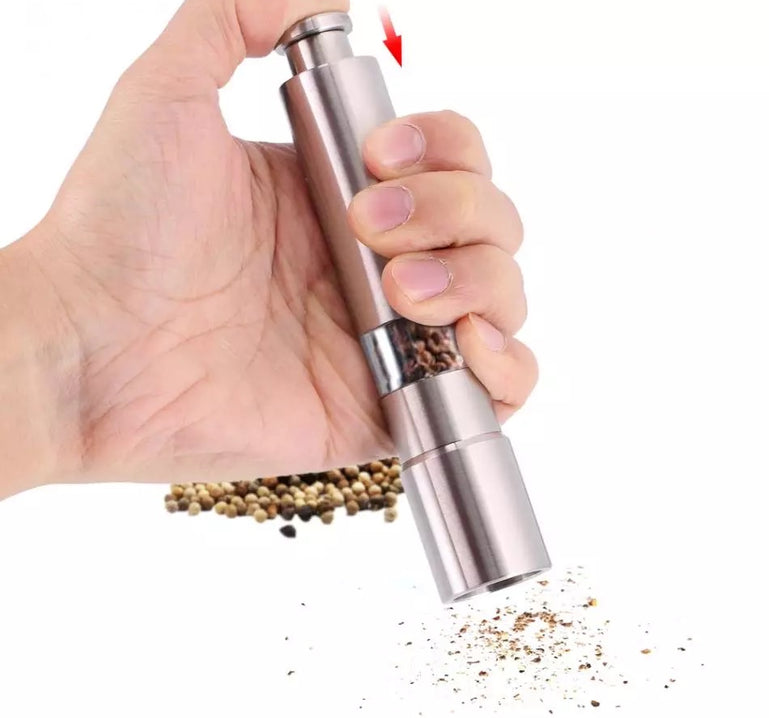 Salt Shaker and Pepper Grinder