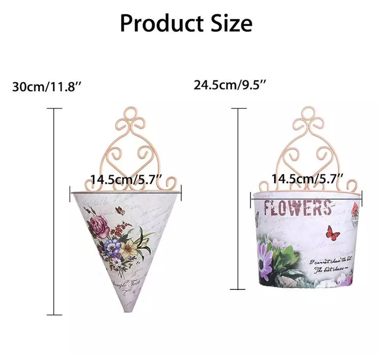 Artificial Flower Hanging Pot