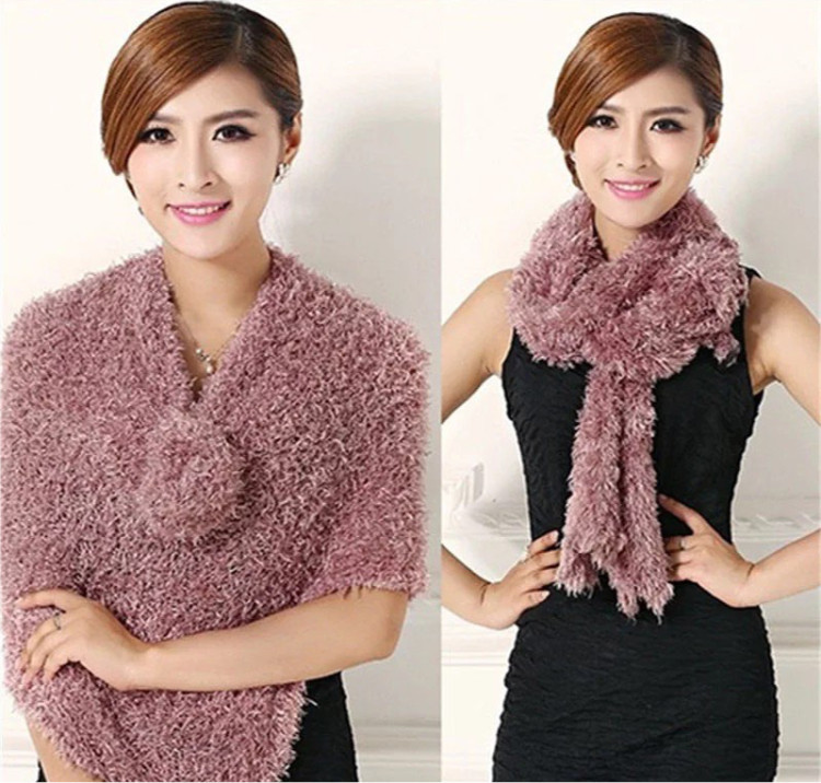Multi-functional Magic Scarf, Faux Scarves For Women, Scarf Knit Shawl Many Different Ways To Wear