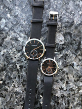 Couple Pair Quartz Watches, His and Hers Couple Wristwatches, Quartz Analog Wrist Watches for Both Men and Women