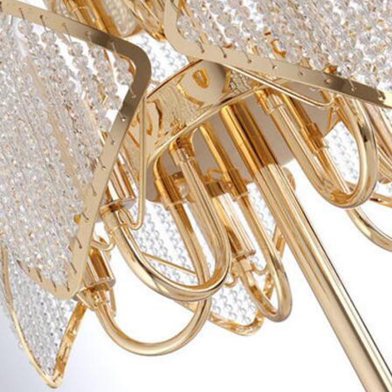 Luxury Design Gold Crystal Table Lamp
