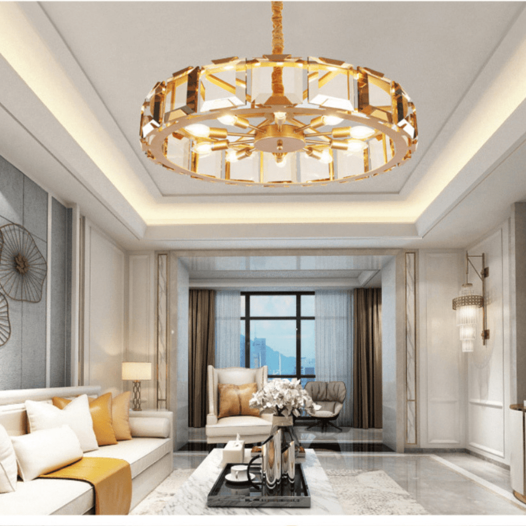 Interior Designer High/Low Ceiling Living Room Pendant