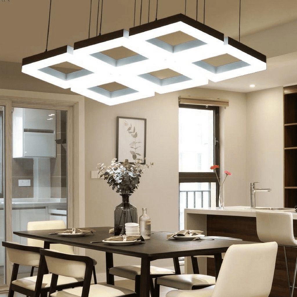 Modern Italian Design High/Low Ceiling Dining Room Pendant ...
