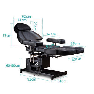 Full Function Hydraulic Electrical Tattoo Bed