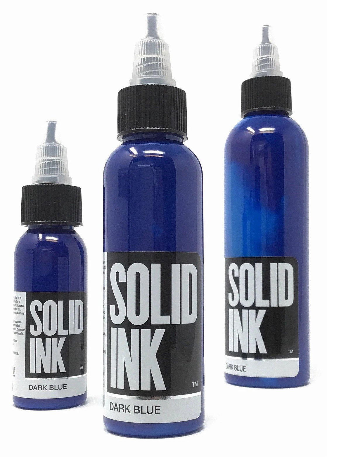 Solid Ink Dark Blue
