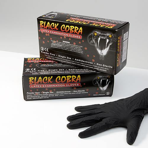 Black Cobra Examination Glove