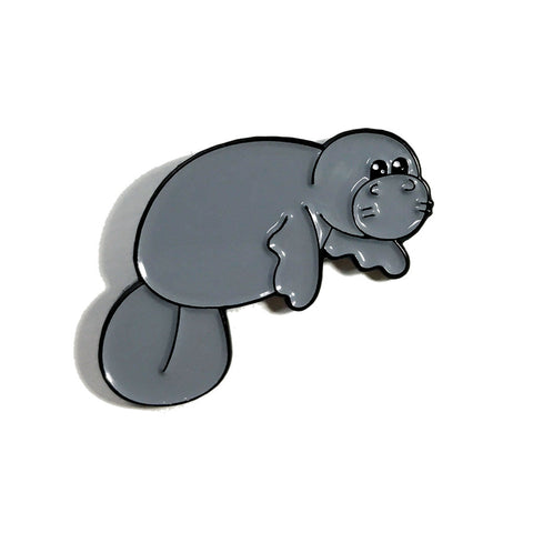 Albert Enamel Pin